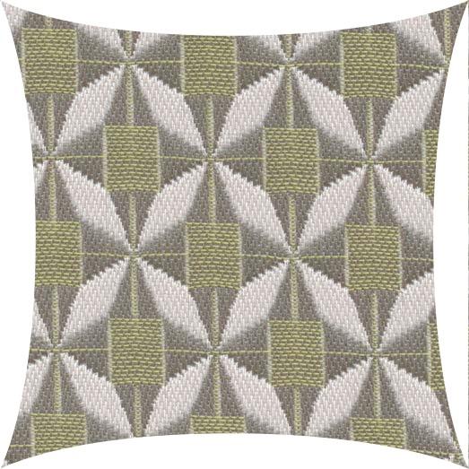 Deko Kissen 40x40 cm, Sunbrella Mosaic Lime, PG5