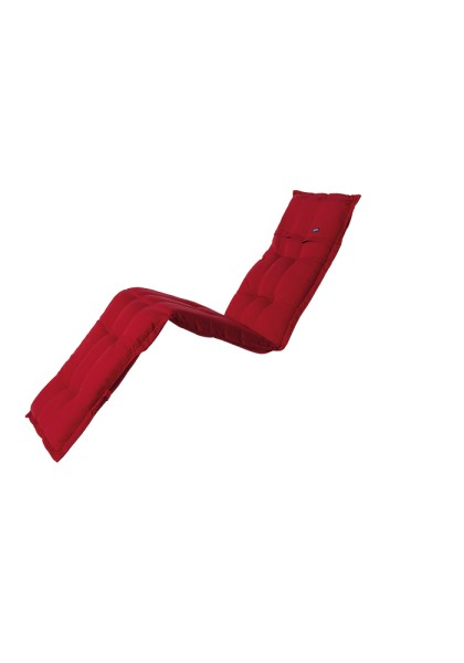 Madison Kissen Rib Red für Liege 65x200 cm