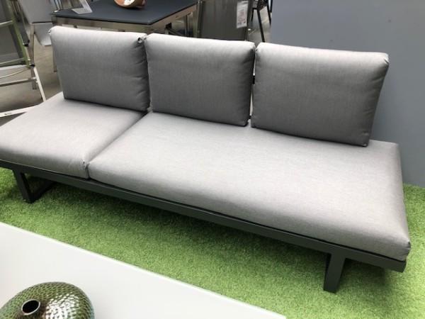Garten Kultur Rao Kissenset für Liege / Sofa 5-teilig (2x Sitzkissen und 3x Rückenkissen) natte char