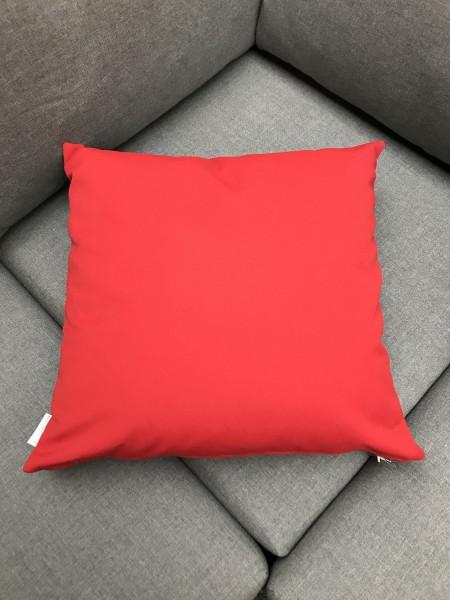 Garten Kultur Deko Kissen 50x50 cm, Paris Red PG3 100 % Acryl