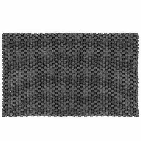 Pad in/outdoor Fussmatte Uni 52x72 cm, stone