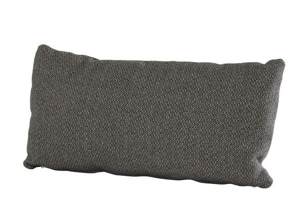 4Seasons Sofakissen 30x60 cm, mit Reissverschluss, Fontalina dunkelgrau