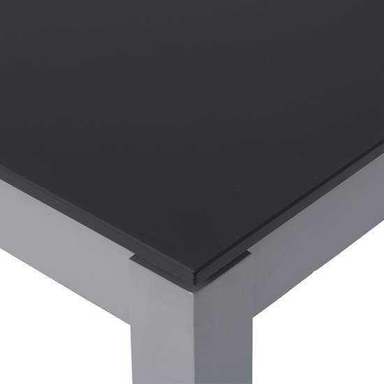 Jati & Kebon Glassplatte dark grey 130x80 cm, 8 mm dick