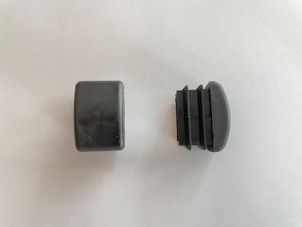 Fusskappe für Varzo, Verstellsessel, schwarz