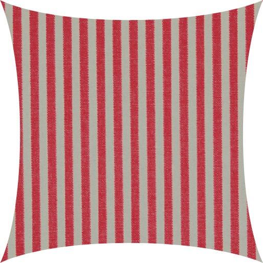 Garten Kultur Kissen für Sessel Malaga, Evora, Stripe rot/grau PG2
