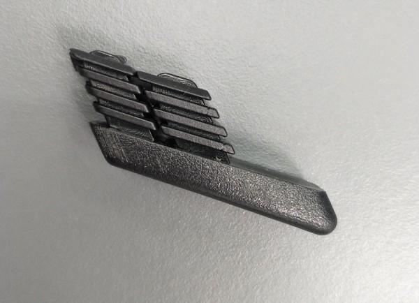 Fusskappe für Feodal Klappsessel hinten schwarz