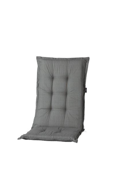 Madison Kissen Basic Grey für Hochlehner und Klappsessel 50x123 cm