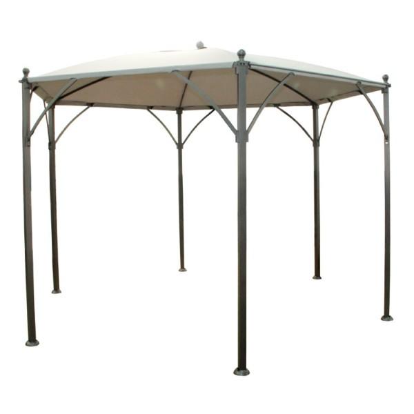 Dach für Pavillon Aussendurchmesser 360 cm natur