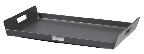 Jati & Kebon Serviertablett Aluminium grau 60x35 cm