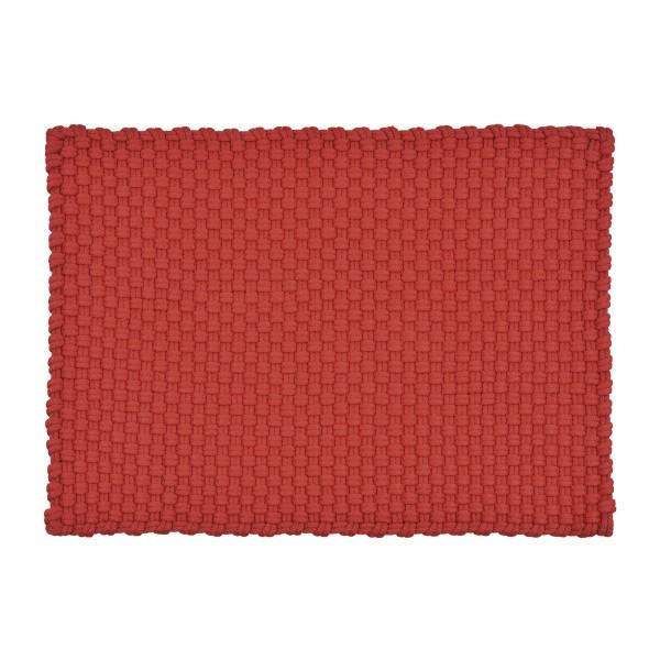 Pad in/outdoor Fussmatte Uni 52x72 cm, red