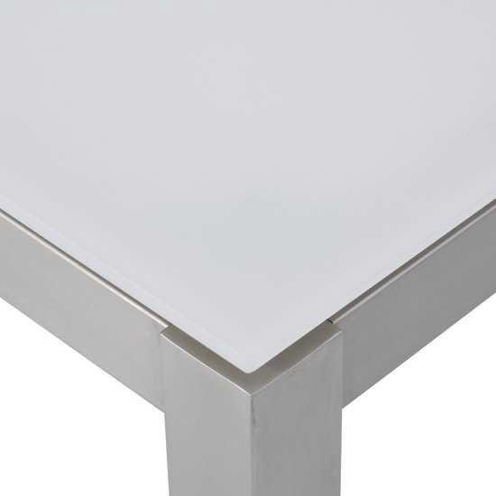 Jati & Kebon Glassplatte light grey 130x80 cm, 10 mm dick
