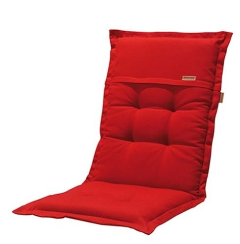 Madison Kissen Rib Red für Hochlehner und Klappsessel 50x123 cm