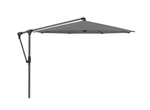 Glatz Sunwing Casa easy Freiarm-Schirm, ø 330 cm, Farbe stone-grey Stk. 2