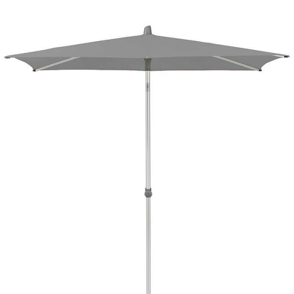 Glatz Alu-Smart Schirm, 240x240 cm Farbe grau