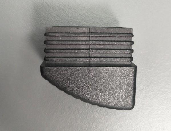Fusskappe für Tinos, Rhodos Klappsessel schwarz