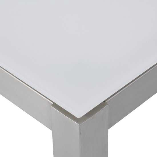 Jati & Kebon Glassplatte light grey 160X90 cm, 10 mm dick