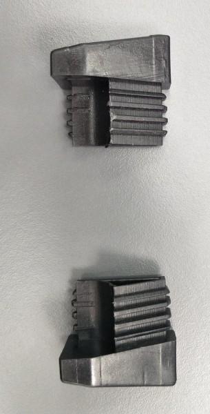 Fusskappe für Dransy Stapelsessel, hinten links, schwarz