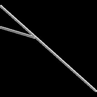 Glatz Sunwing Dachstrebe für Schirm 260 x 260 Eckstrebe Farbe grau 1820 mm