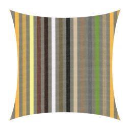 Garten Kultur Universalkissen für Klappsessel Sunbrella Stripes yellow confetti PG 3
