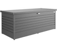 Biohort Freizeitbox 180 181x79x71 cm quarzgrau metallic