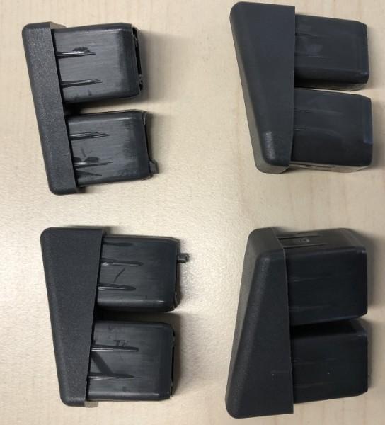 Fusskappen Urban Klappsessel Set für einen Sessel