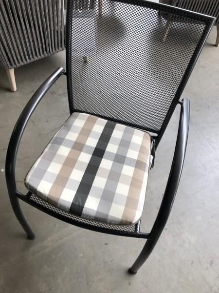 Kettler Sitzkissen Design Cappuccino, Wendekisssen