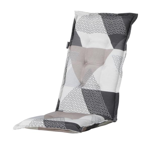 Madison Kissen Triangle Grey für Hochlehner und Klappsessel 50x123 cm