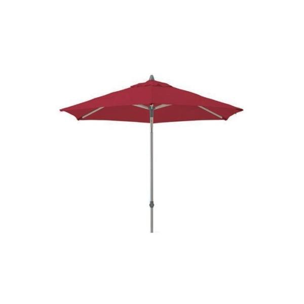 Glatz Push-up Schirm, 250 cm, Farbe aurora red