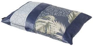 Madison Sofakissen / Dekokissen Velvet Match Dark Blue 60x40 cm