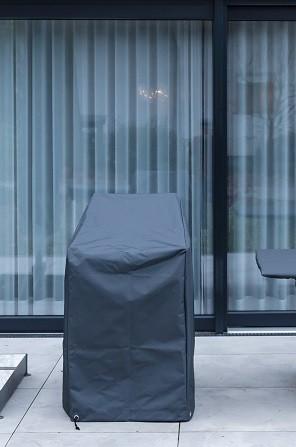 Garten Kultur Schutzhülle für Rao 1-er Modul mit Rückenlehne, Everlast charcoal