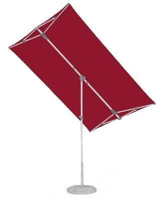 Glatz Flex-Roof, 210x150 cm, Farbe aurora red, inkl. Schutzhülle