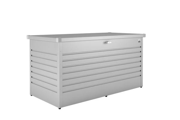 Biohort Freizeitbox 160 high 160x79x83 cm silber metallic