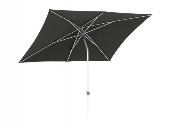 Glatz Alu-Smart Schirm, 240x240 cm Farbe dunkelgrau / stone grey