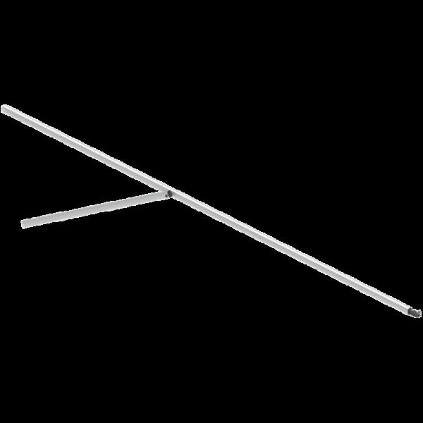 Glatz Alu Smart Dachstrebe für Schirm 240x240 cm, Eckstrebe 1650 mm