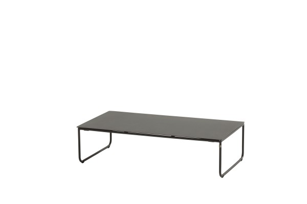 4 Seasons Dali Lounge Tisch 110x60 cm, H 40 cm, grau