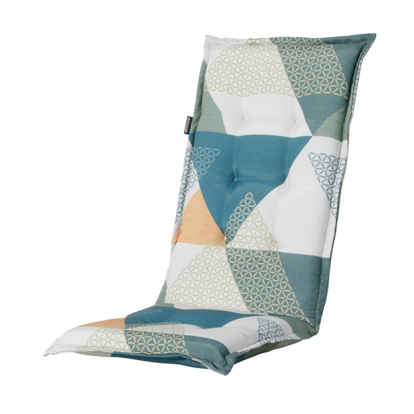 Madison Kissen Triangle Green für Stapelsessel 50x105 cm