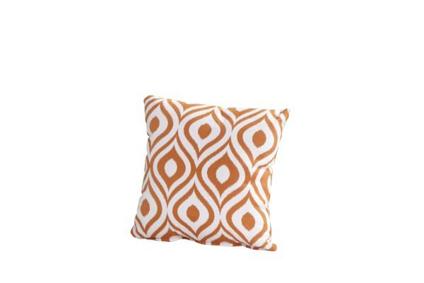 4Seasons Sofakissen 30x30 cm, mit Reissverschluss, Pinamar Orange