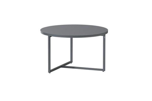 4 Seasons Valetta Lounge Tisch ø 58,5 cm, Höhe 35 cm anthrazit