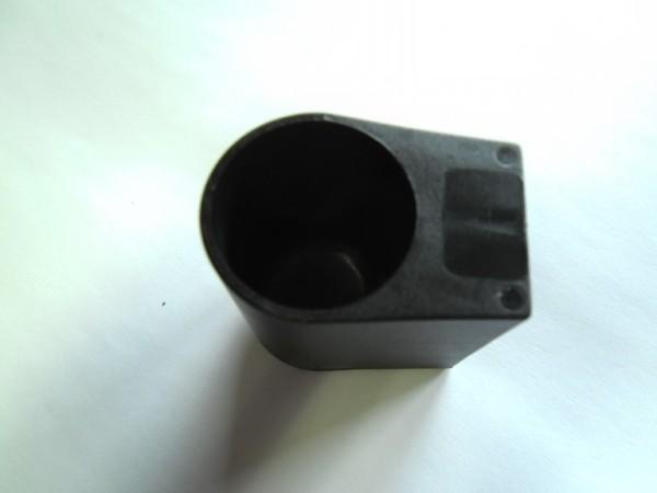 Bodengleiter Innendurchmesser 28 mm schwarz