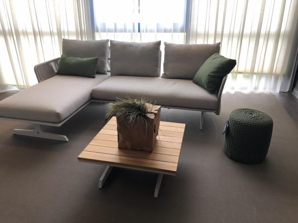 4 Seasons Play Lounge Set mit Kissen Farbe Frost Grey