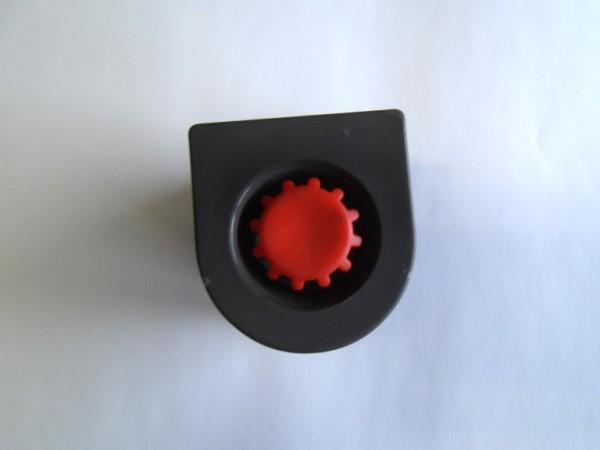 Bodengleichter D-Profil 50,8x54 mm eisengrau