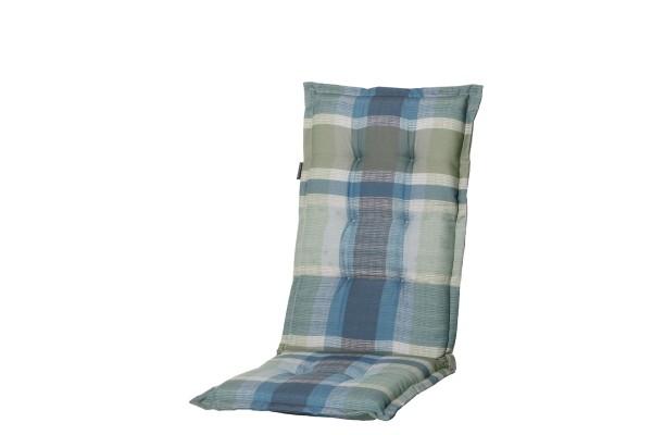 Madison Kissen Wilson Blue für Hochlehner und Klappsessel 50x123 cm
