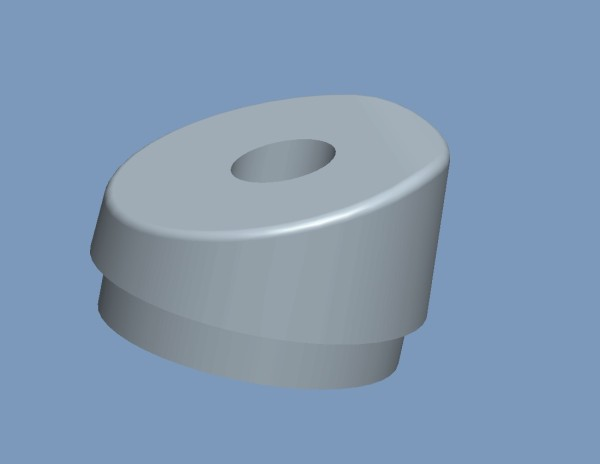 Fusskappen 4er-Set Farbe grau hinten