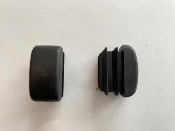 Fusskappe für Jona Deck Chair, schwarz