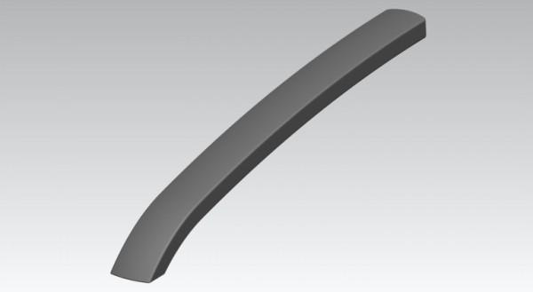 Armlehne Kunststoff RE/LI schwarz für Stapelsessel und Bank Arcio, Arcion