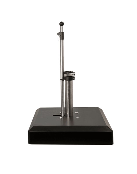 Liro Schirmständer Alu-Vario 50 kg, Farbe anthrazit, mit Schnellspannsystem