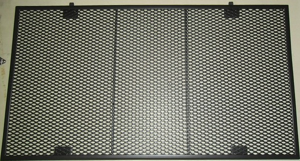 Streckmetall Einlege-Tischplatte für Ausziehtisch 50x90 cm grau