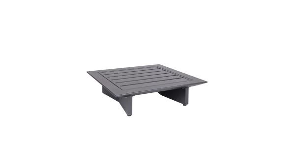 Arbon Basismodul 1-Sitzer eisengrau, Rückenlehne separat zu bestellen