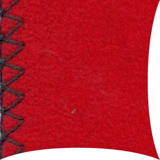 Garten Kultur Plaid Large Decke 200x160, rot