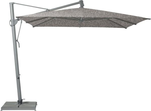 Glatz Sombrano S+ Freiarm-Schirm, 400x300 cm, Farbe smoke